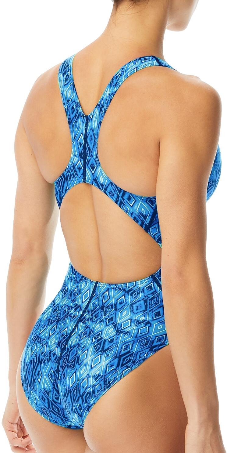 TYR Glacial Maxfit Costume Donna, blue su Addnature d6l6A